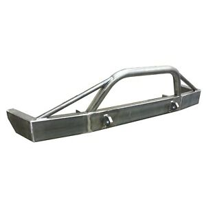 Jeep Cherokee Xj Front Bumper Heavy Duty Complete With Steering Spacer