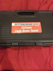 Brand New Pittsburgh 62595 Cylinder Leak down Tester