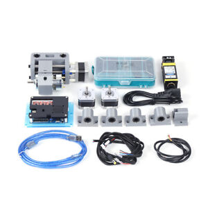 Diy Cnc 3018pro Router Laser Engraving Machine 3 Axis Milling 500mw Laser Head