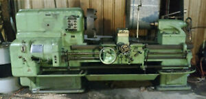 American Pacemaker Lathe 20 X 48 Geared Head Lathe Works Great