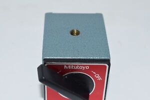 Mitutoyo 7011sn Magnetic Base On off