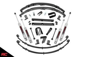 Rough Country 620n2 4 Lift Kit 1987 1995 Jeep Wrangler Yj 4wd Suspension Lift