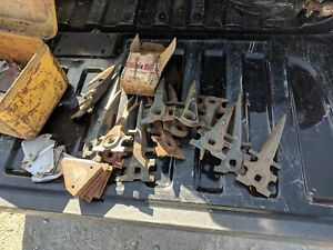 13 Sickle Mower Gaurds And A Bunch Of Knives