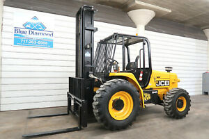 2011 Jcb 940 8 000 Rough Terrain Forklift 30 Three Stage Sideshift Nice