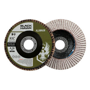 50 Pack 4 5 X 7 8 Bha 36 Grit Stearate Coated Flap Discs For Aluminum T27