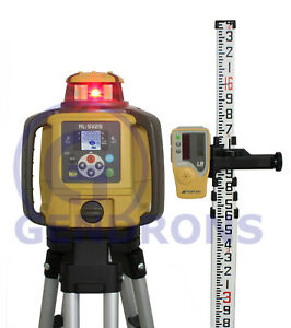Topcon Rl sv2s Dual Slope Self leveling Rotary Grade Laser Level Package 10th