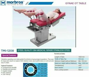 Electric Gynecological Obstetric Operation Theater Surgical Table