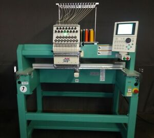 2011 Tajima Tfmx C1501 15 Needle Single Head Embroidery Machine