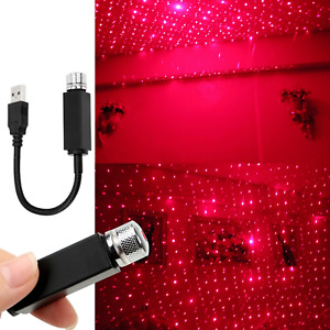 Luminous Ride Car Roof Led Lights Star Roof Projector Romantic Atmosphere Light