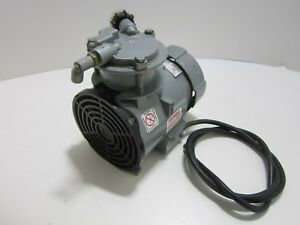 Gast Mfg Roa p101 ac Air Pump 230 240 Vac 100 Psi Oil less Rocking Piston Pump