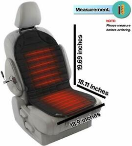Heated Car Seat Cushion Premium Quality Adjustable Temperature Heating Pad Pain