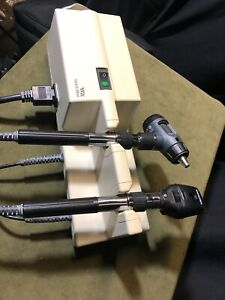 Welch Allyn 767 Transformer Otoscope 23810 Ophthalmoscope 11710 Diagnostic Set