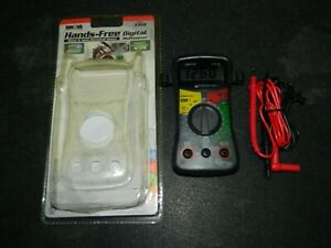 New Equus Innova 3310 Hands Free Digital Multimeter Home Auto Electrical Test
