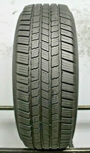 One Used 245 65r17 2456517 Michelin Defender Ltx M S 9 32 S335