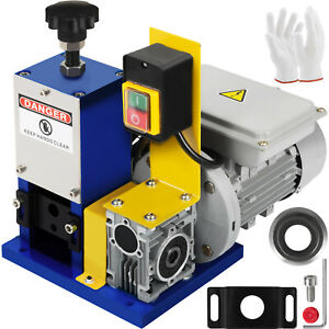 Powered Electric Wire Stripping Machine With Extra Blade Copper Automatic Scrap