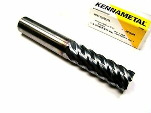 Kennametal Carbide End Mill 3 4 6fl Ticn Hpff750s6225