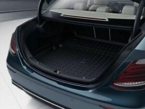 Mercedes Benz Genuine Black E Class Cargo Trunk Tray W Folding Seats W213 17