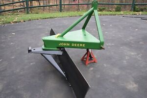 Commercial Rear Grader plow Blade John Deere Ford 3 Point Hitch Cat 1
