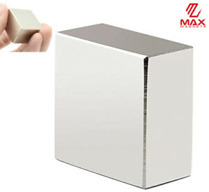 Max Magnets Super Strong Large 1 5 Neodymium Large Block 40x40x20 Rare Earth