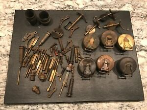 Lot Of Of Original Model A Ford Zenith Carburetor Parts Floats Free Ship
