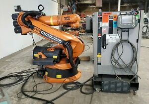Kuka Kr210 Robot Complete Working System W Krc2 Upgraded Software To Winxp