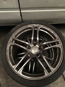 Audi R8 09 15 Front Wheel And Tire