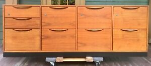 Risom Credenza File Cabinet Sideboard Console Chest Dresser Mid Century Vintage