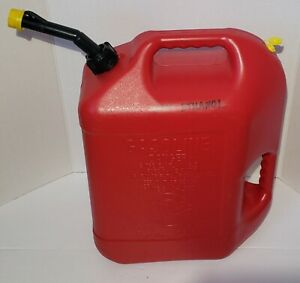 Blitz 6 Gallon Gas Can Self Vented Spout W Cap Vent Preban Vintage 50841 Usa