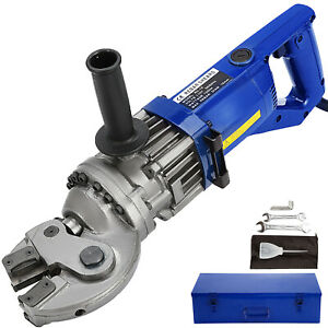 Rc18 Portable Hydraulic Electric Rebar Cutter Scissor 110v 1250w Handheld 18mm