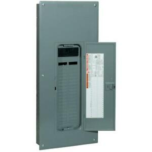 Intdoor Main Breaker 200 Amp 42 space 42 circuit Plug on Neutral Load Cover New