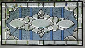 Super Sale Ends 12 18 Beveled Stained Glass Window Panel