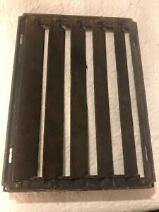 Antique Cast Iron Metal Grate Vent Wall Register Cover Heating 9 X 12