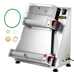 Vevor Electric Pizza Dough Roller Sheeter Pastry Press Making Machine 4 15 7