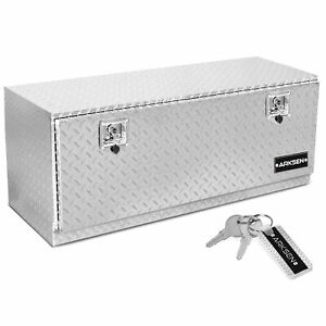 48 Truck Rv Aluminum Tool Box Underbody Trailer Storage With Key