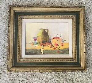 Vtg Mid Century Picture Art Frame Carved Gilt Wood Mexico For 9 X 12 Painting