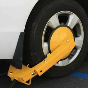 2x Anti Theft Wheel Lock Clamp Boot Tire Claw Parking Car Truck Rv Boat Trailer