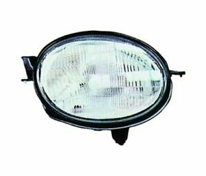 Toyota Corolla 1997 1999 Chrome Vp1050p Right Headlight Rht