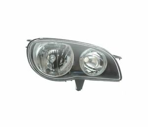 Toyota Corolla 1999 2002 Black Vp1271p Right Headlight Rht