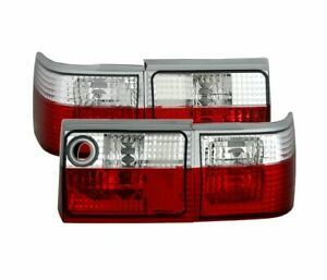 Audi 80 Type 89 1986 1996 Red White Vt26 Set Rear Lights Tail