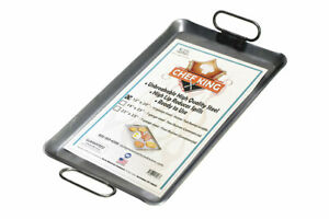 New Rocky Mountain Cookware Chef King 10 Gauge Steel Griddle