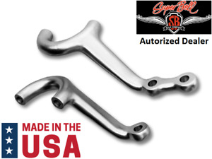 Super Bell Forged Dropped Steering Arm Set For 1935 1948 Ford Car