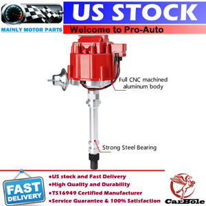 Hei Distributor Ignition For Sbc Bbc 350 Block Chevy Street Fire Msd 8362 59107c
