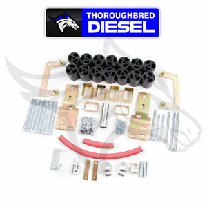 Zone Offroad 3 Body Lift Kit For 1998 2000 Ford Ranger F9378