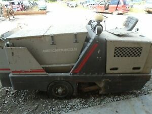 American Lincoln Gas Powered Parking Lot street Sweeper 577 405 For Parts Only