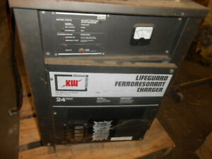 Kw 24v Industrial Battery Charger Mod 12 975f3b 230 460 Vac 3 Ph Used