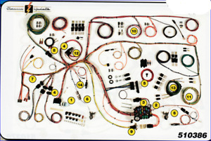 1965 Ford Falcon Classic Update Wiring Harness Aaw New Quality Usa