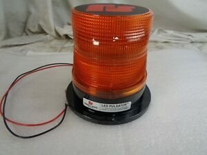 Brand New Oe Federal Signal 212660 02sb Pulsator Led Beacon Class 1 Permanent