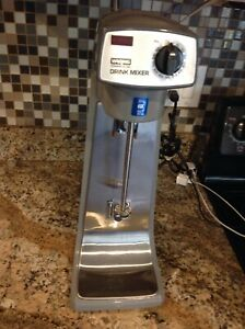 Waring Commercial Drink Shake Mixer 1 spindle 2 speed Dmc10 No Cups