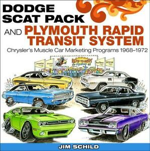 Dodge Scat Pack Plymouth Rapid Transit System Book 1968 1972 charger cuda new
