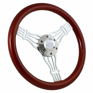 1974 1994 Chevy Pick Up C K Series Wood Steering Wheel Horn Boss Kit Banjo